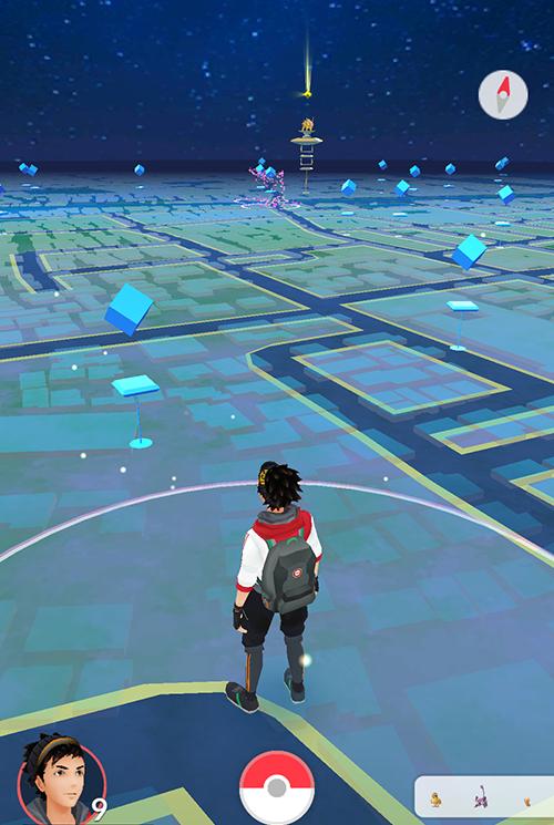 ポケモンGO 地図表示方法