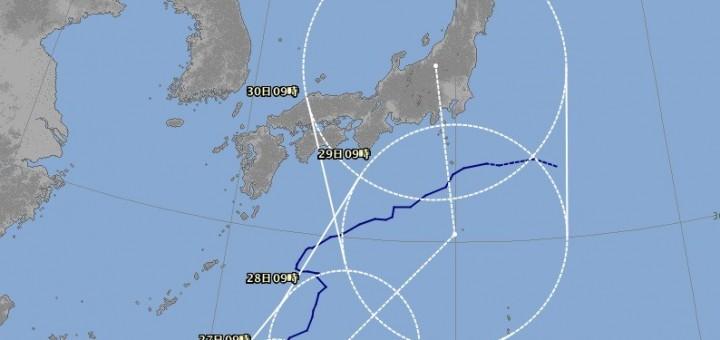 台風10号 ライオンロック