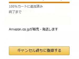 Amazonプレイムデーキャンセル待ち